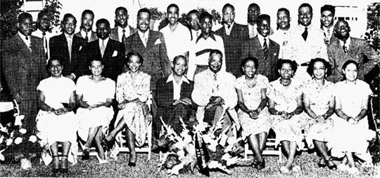 Delta Rho Lambda Historic Picture