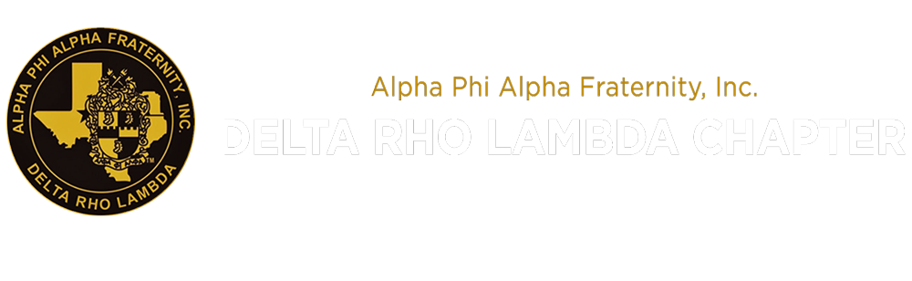 The Delta Rho Lambda Chapter of Alpha Phi Alpha Fraternity, Inc.